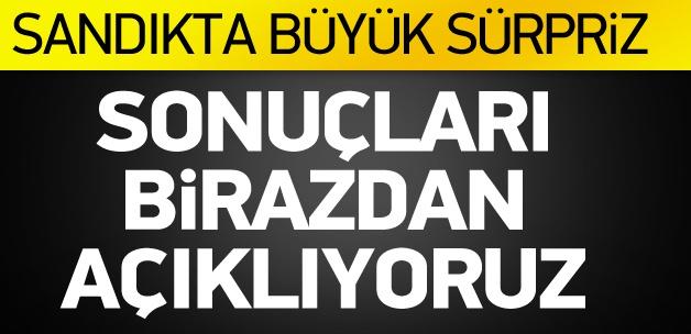 İşte Türkiye Geneli İlk Sonuçlar CANLI