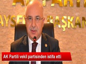 SONDAKİKA AKP Milletvekili İstifa Etti