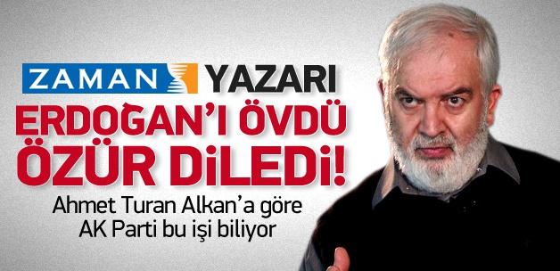 Zaman Yazarından Erdoğan'a Övgü Ve Özür!