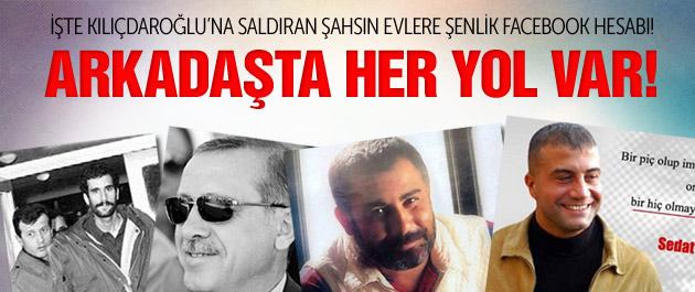 Kılıçdaroğlu'na Saldıran Şahısta Her Yol Var!