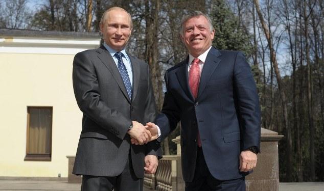 Kral Abdullah, Putin'le görüştü