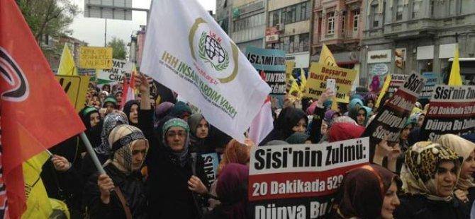 Tüm Türkiye'de Cuma Sonrası Mısır'a Destek FOTO