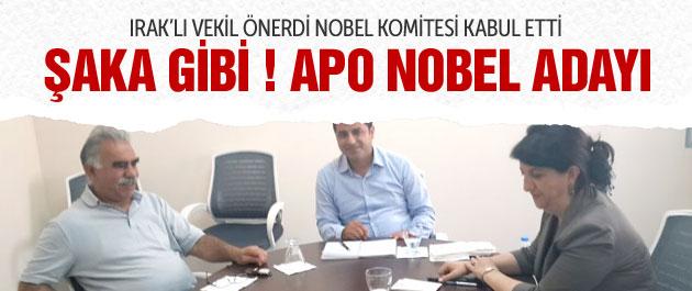 Abdullah Öcalan Nobel'e Aday Gösterildi