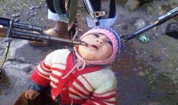 Tekfirci Teröristler: En Genç Rehinemiz !