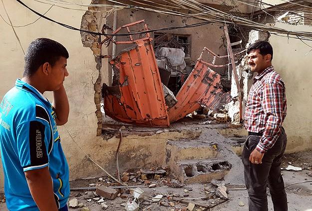 Diyala'da 7 bin aile evlerini terk etti