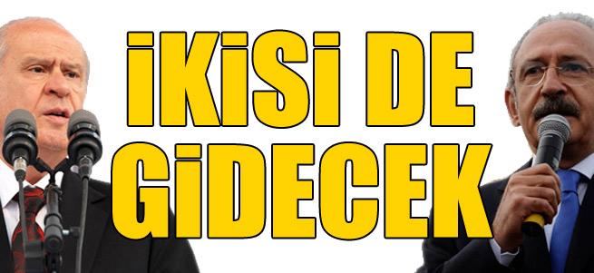 """""""Bahçeli ve Kılıçdaroğlu gidecek"""""""