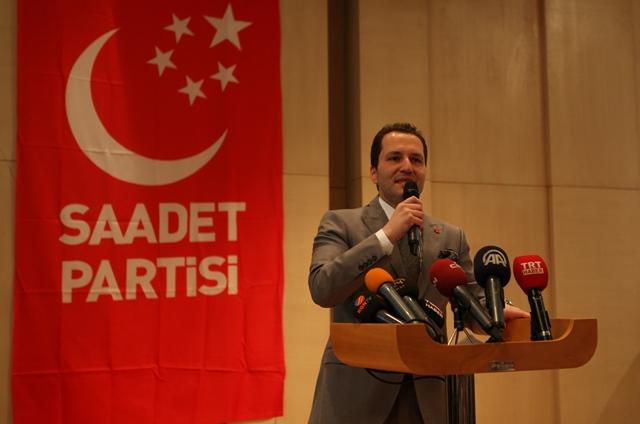 Saadet Partisi'nden Fatih Erbakan'a Tepki
