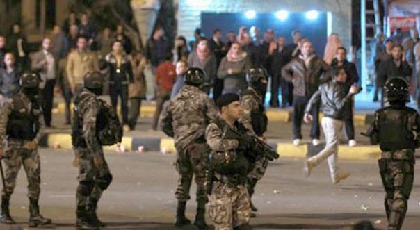 Ürdün'de gösteriler beş gündür sürüyor