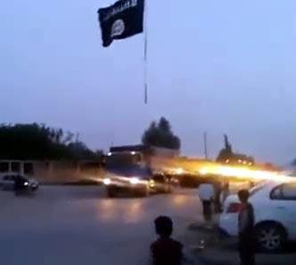Tekfirci Teröristlerden Süleyman Şah Görüntüleri