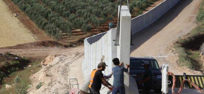 Suriye sınırına seyyar duvar