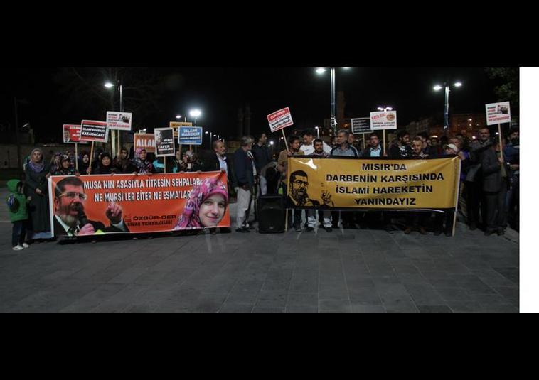 Türkiye Mısır İçin Ayakta GALERİ