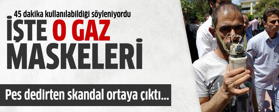İşte Soma'daki Gaz Maskesi Skandalı