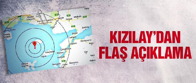 Kızılay'dan flaş açıklama!