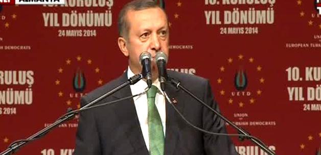 Gurbetçi vatandaşlarımız Erdoğan'la coştu VİDEO