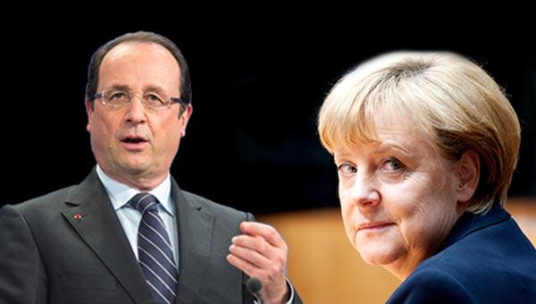 Merkel ve Hollande'a büyük şok