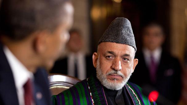 Karzai veda konuşmasında ABD'ye yüklendi