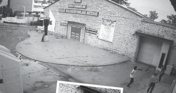Başbakanlık Ofisine Saldırı Görüntüleri