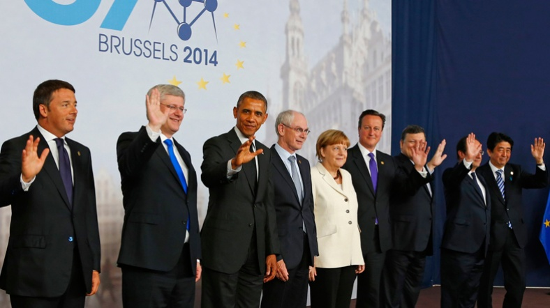 G7: Rusya'ya yaptırımlar artabilir