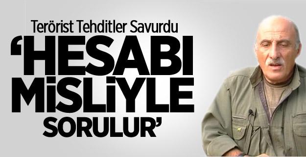 PKK'lı KalkanTehditler Savurdu