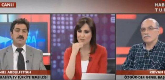 El Arabiya temsilcisi yayınını terk etti