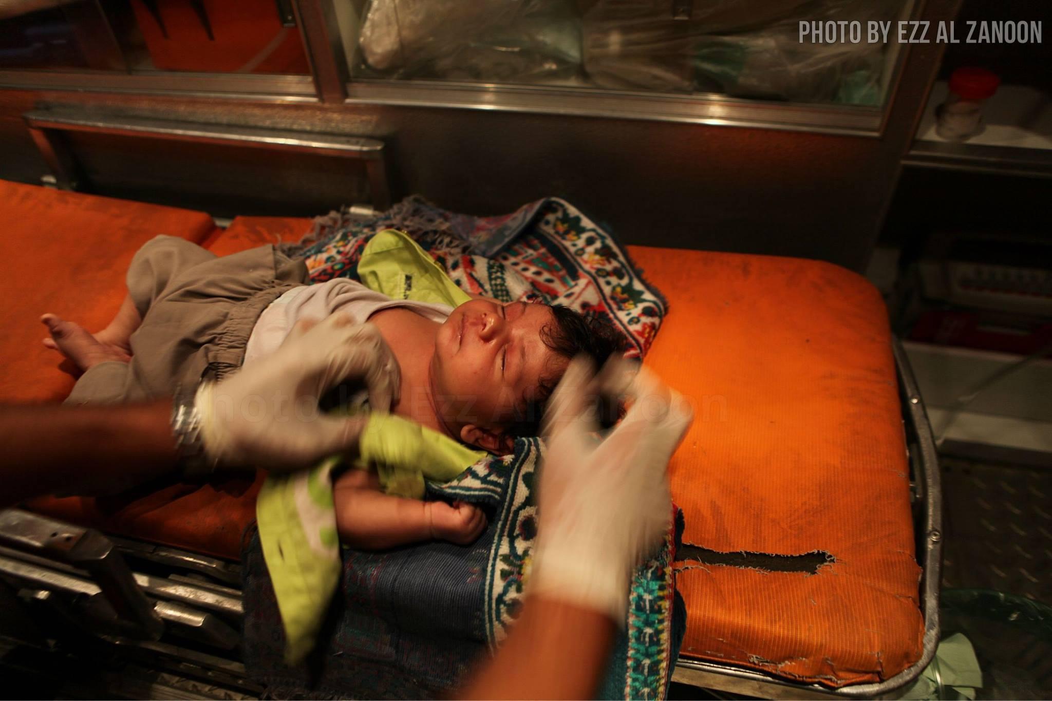 İsrail Yine Çocukları Vurdu-FOTO