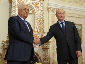 Putin Abbas İle Görüştü