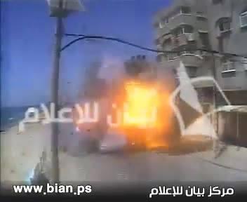 Gazze'de ki Direnişçiler Böyle Vuruldu-VİDEO