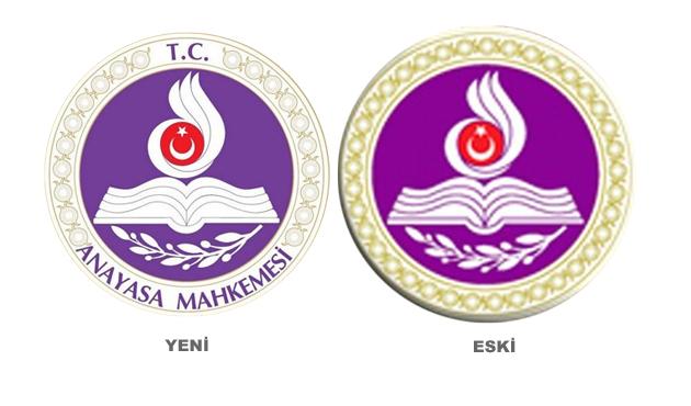 AYM logosuna TC'yi ekledi