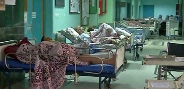 Gazze'de yaralanan 216 kişi Mısır'da tedavi ediliyor