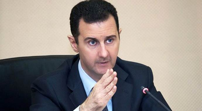 Amerika'dan Esad Açıklaması