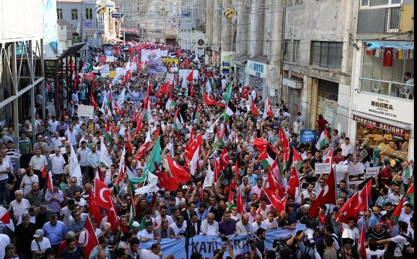 Gazze İçin Büyük Yürüyüş Başladı-FOTO