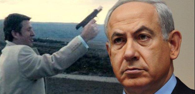 Metin Şentürk silahını çekip Netanyahu'ya seslendi