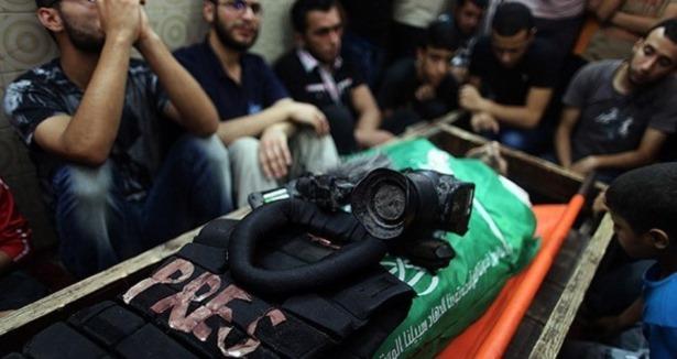 İsrail Gazze'de 16 gazeteciyi öldürdü