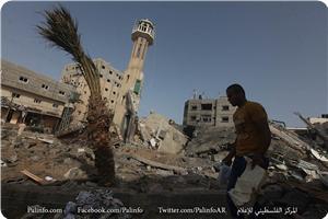 Siyonistler bu sabahki saldırılarda 3 cami yıktı