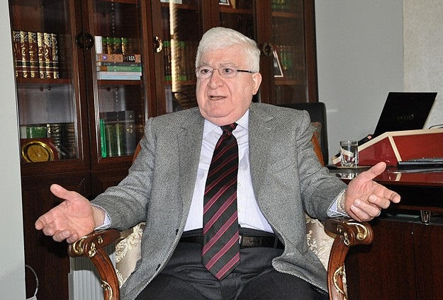 Irak Cumhurbaşkanı Masum İran'da