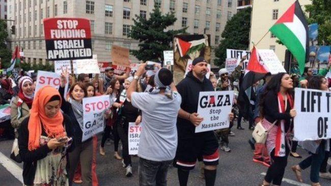 Gazze'ye Bir Destek de Portland'dan Geldi
