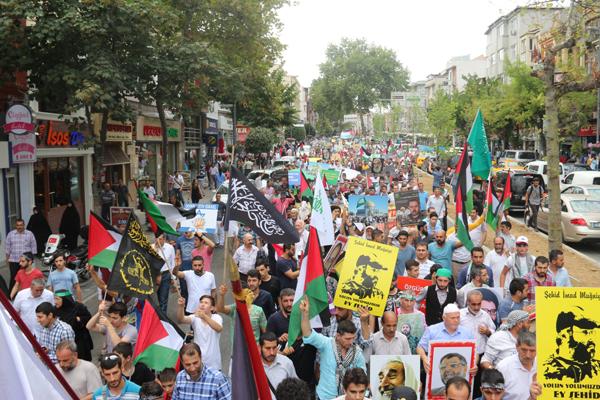 Fatih'de Kudüs Günü Eylemi