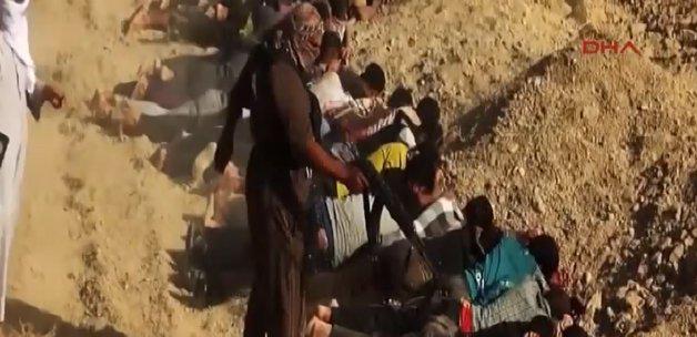 3 Ayrı Katliam Görüntüleriyle  IŞİD'in Gerçek Yüzü-VİDEO
