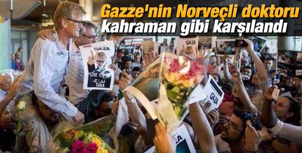 Norveçli doktor Mads Gilbert Gazze'den döndü