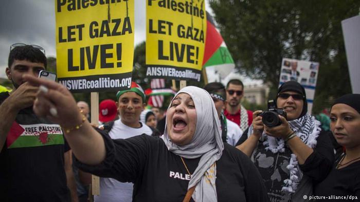 ABD'de İsrail protestosu