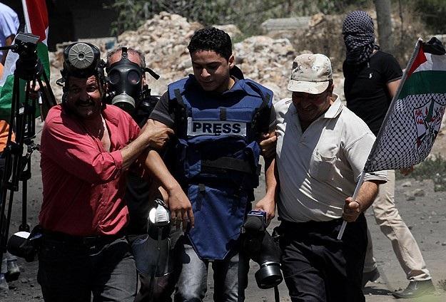 Gazze'de şu ana kadar 10 gazeteci Şehid