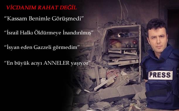 TRT Muhabiri Gazzeden Döndü : İSYAN EDEN GAZZELİ GÖRMEDİM!