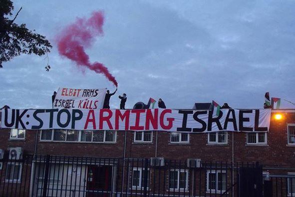İngiltere'de Çarpıcı Gazze Eylemi-FOTO