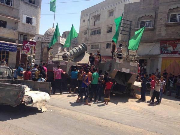 Siyonistlerin Geride Bıraktıkları Filistinli Çocukların Eğlencesi... FOTO