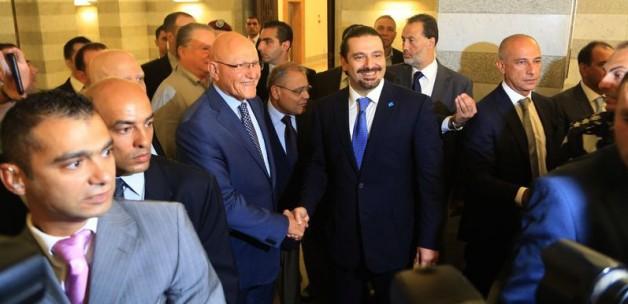 Saad Hariri Beyrut'a geldi