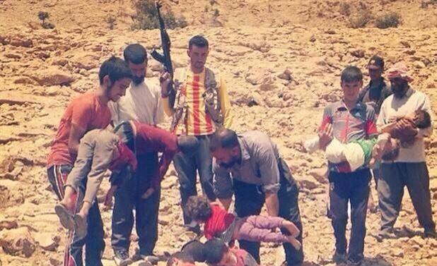 350 Yezidi Cizre'ye yerleştirildi