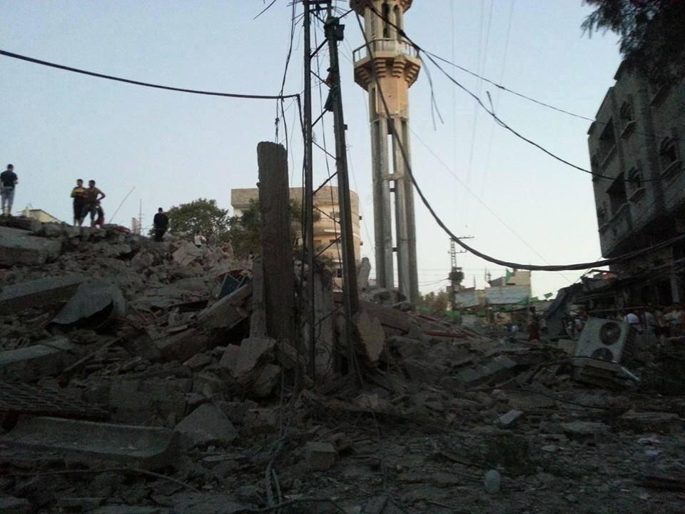 Siyonistler Cami'leri Vuruyor-FOTO