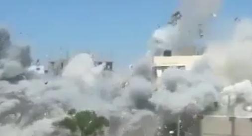 İsrail Gazze'yi Böyle Bombalıyor-VİDEO