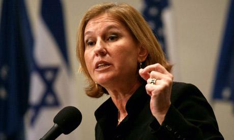 Livni'den Küstah Açıklama