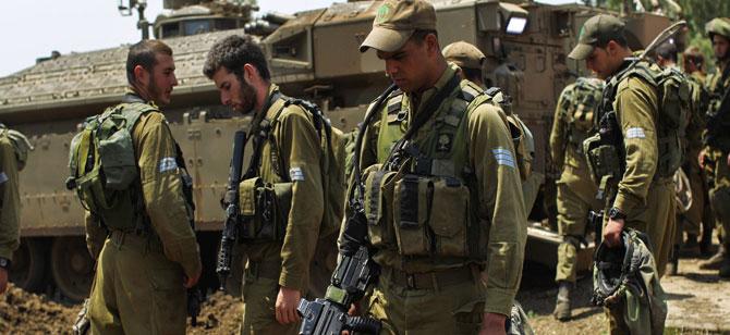 İsrail Askerlerinden Netanyahu'ya Filistinli Resti